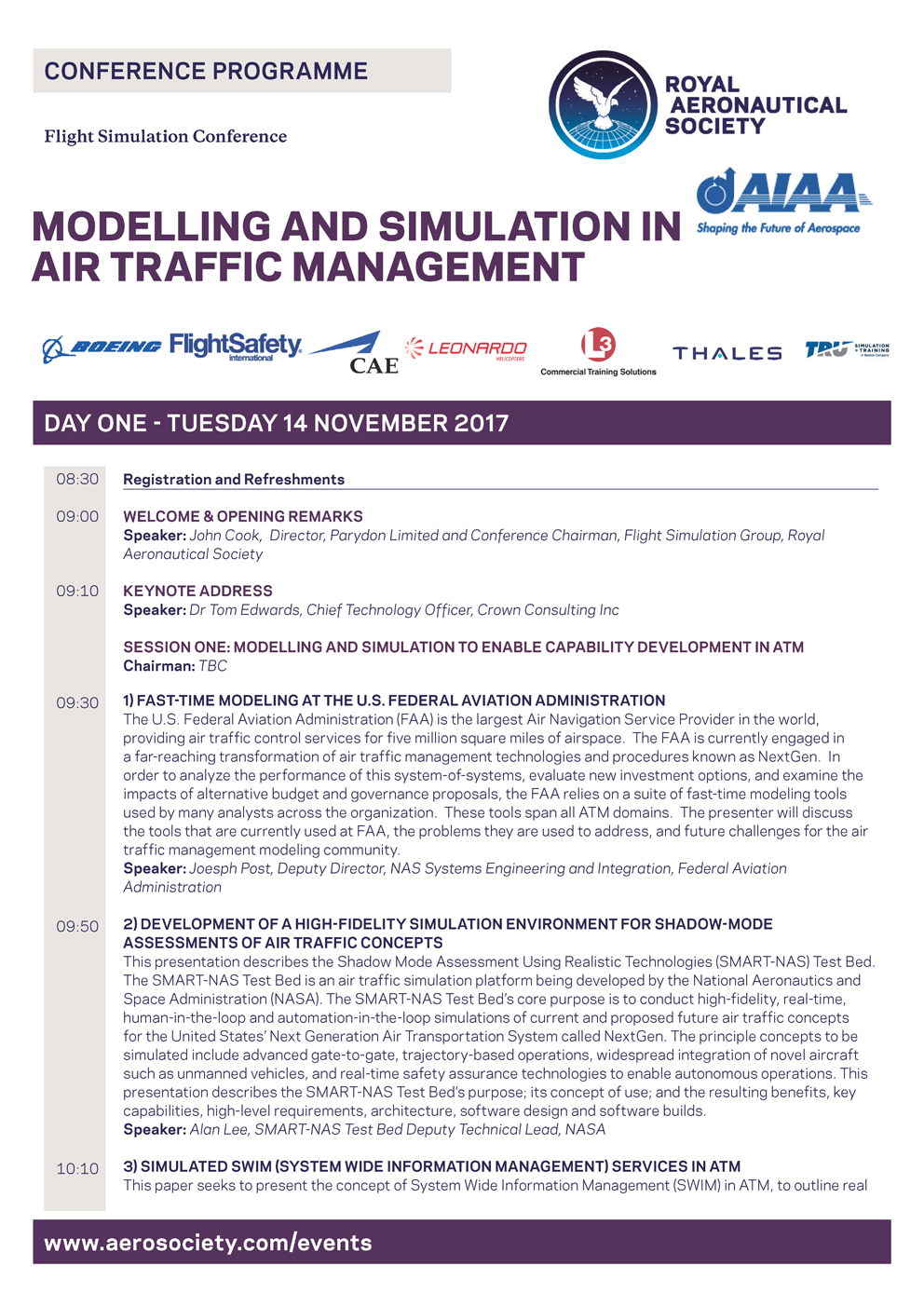conference simulation The 2018 siemens plm software plant simulation worldwide user conference will be held october 16th through 18th in stuttgart, germany.
